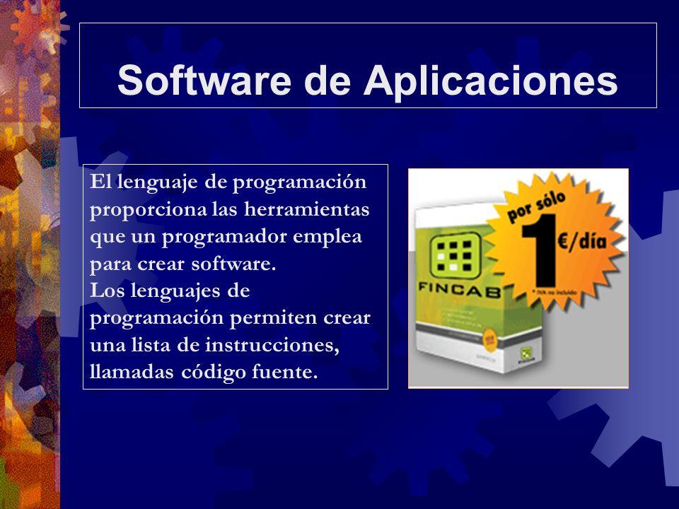 El lenguaje de programación proporciona las herramientas que un programador emplea para crear software. Los lenguajes de programación permiten crear u