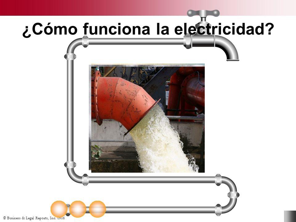 © Business & Legal Reports, Inc. 0906 ¿Cómo funciona la electricidad?