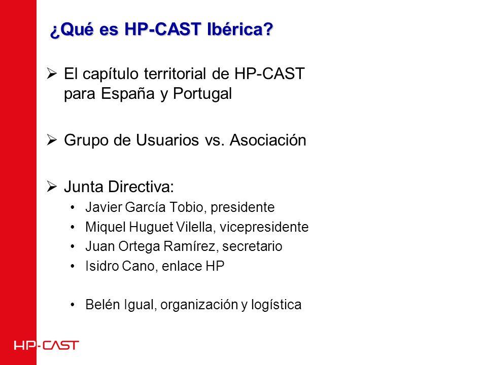¿Qué es HP-CAST Ibérica.