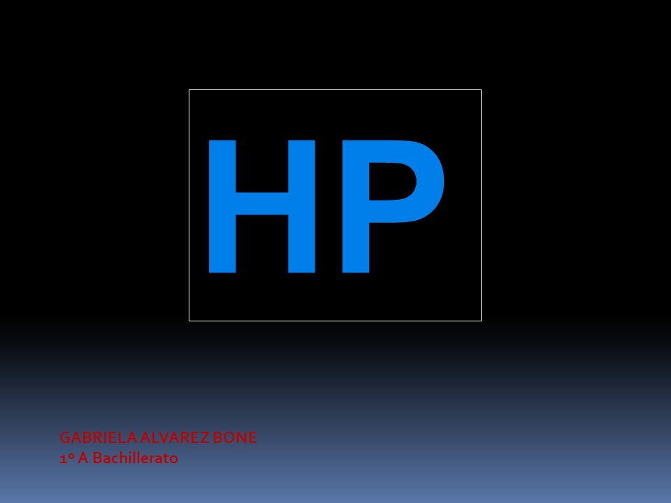 HP GABRIELA ALVAREZ BONE 1º A Bachillerato