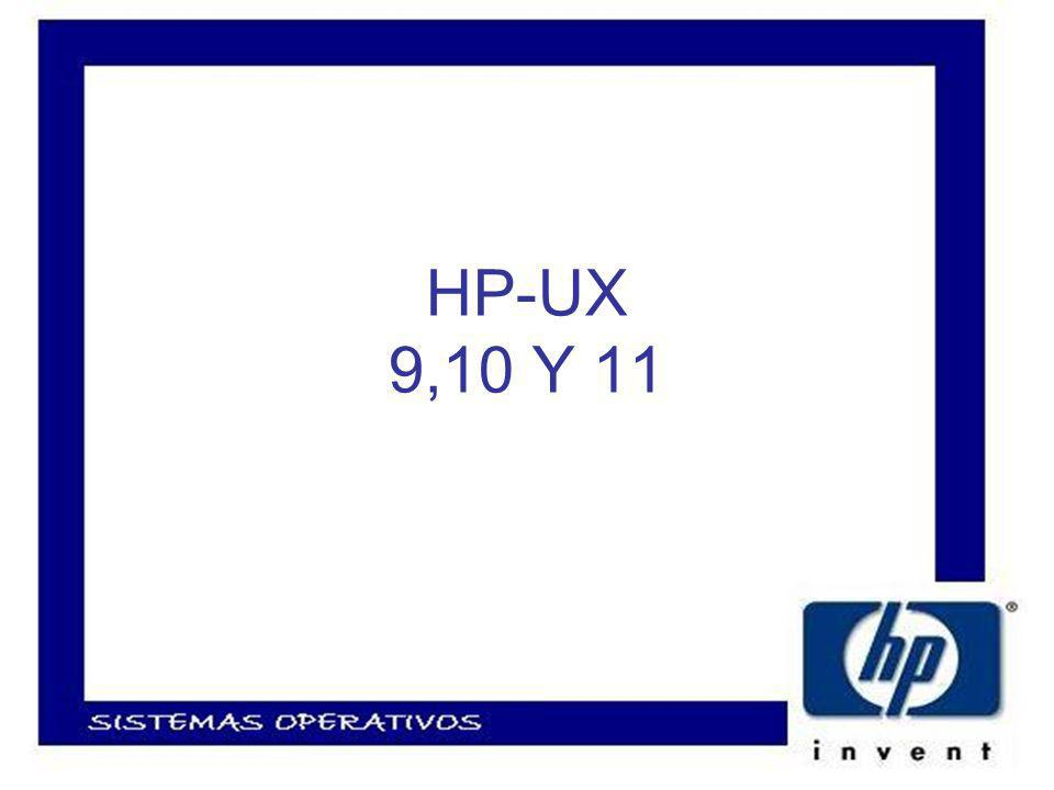 Componentes principales de HP-UX Kernel Módulos del kernel Estructura de directorios de HP-UX