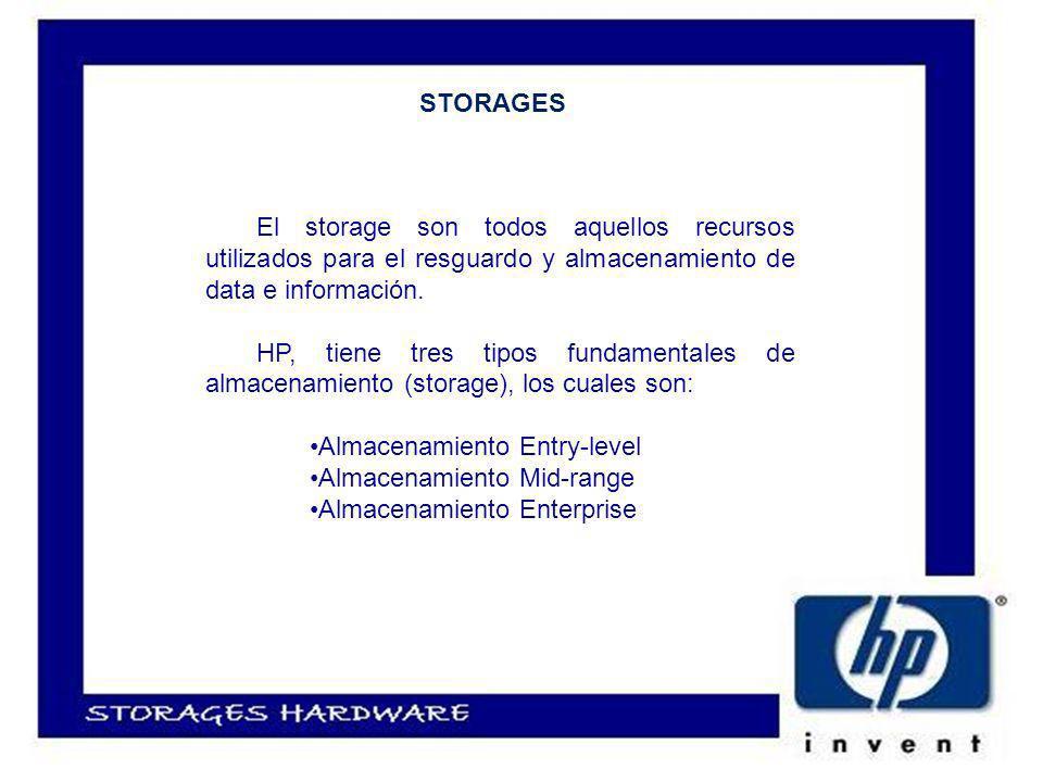 El storage son todos aquellos recursos utilizados para el resguardo y almacenamiento de data e información.