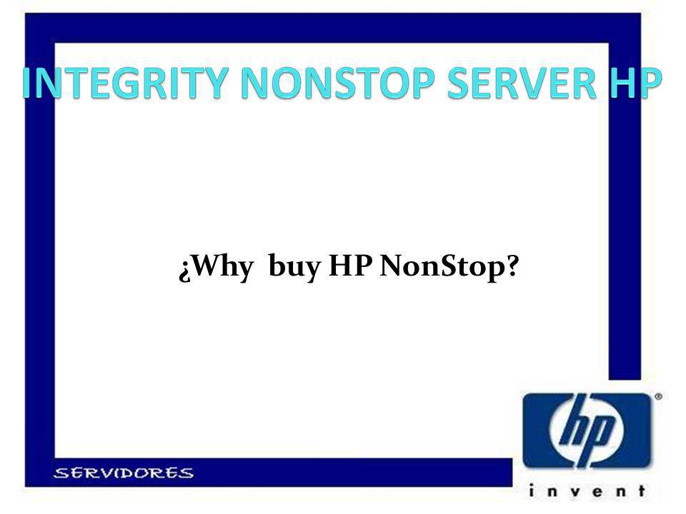 ¿Why buy HP NonStop
