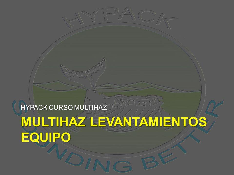 MULTIHAZ LEVANTAMIENTOS EQUIPO HYPACK CURSO MULTIHAZ