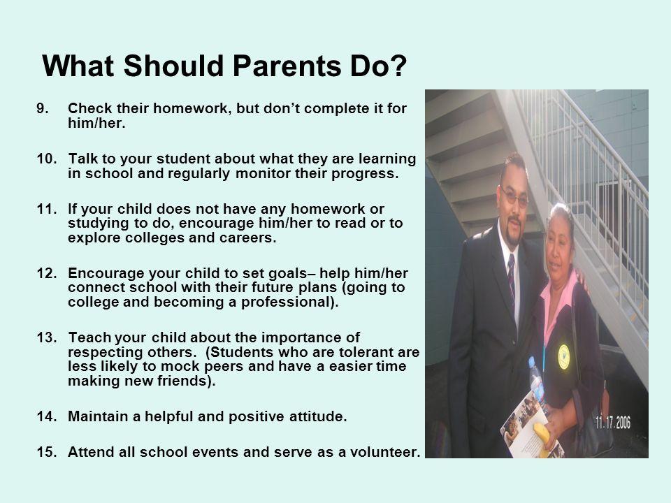 ¿Qué deben hacer los padres. 1.Escuche y sea sensible a las preocupaciones de su hijo/a.