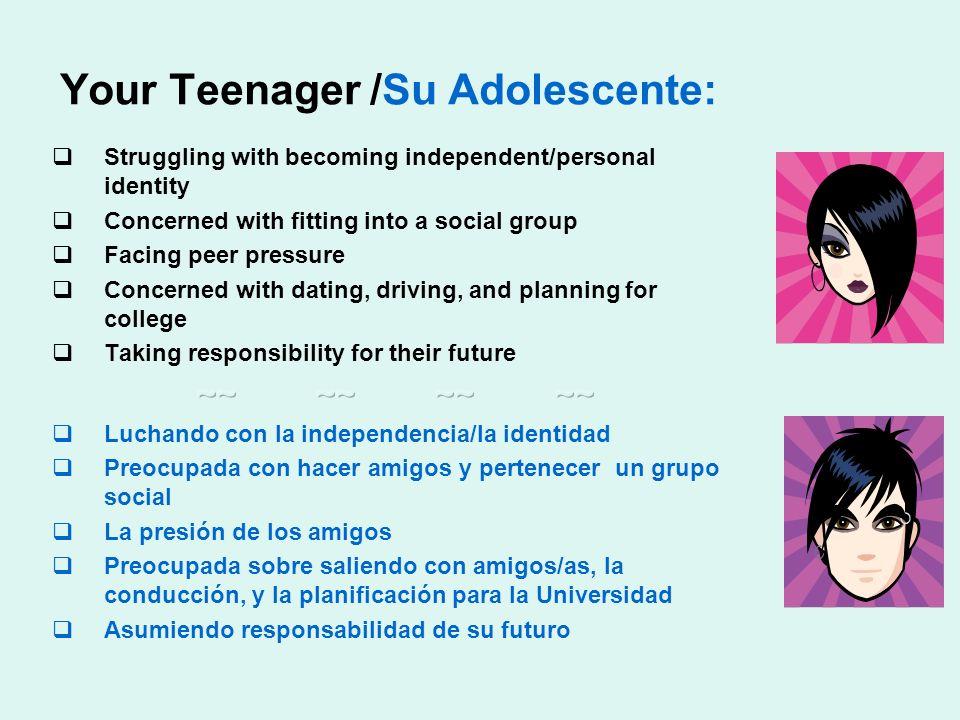 Your Teenager /Su Adolescente: