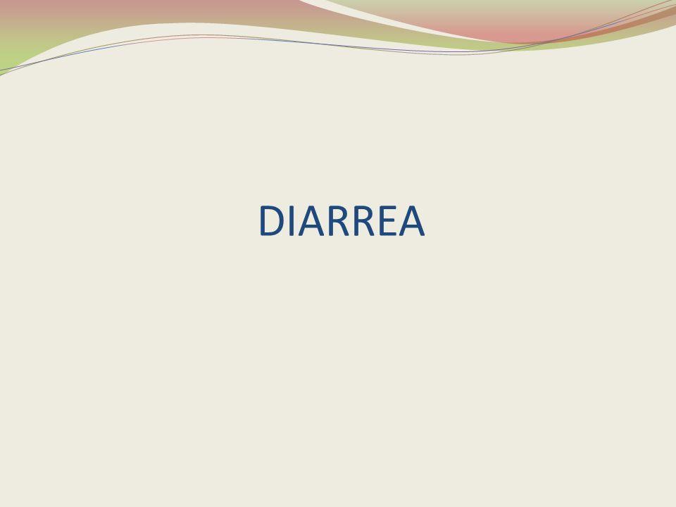 DEFINICION DE LA DIARREA La diarrea o síndrome diarreico es el aumento en la frecuencia y fluidez de las heces.