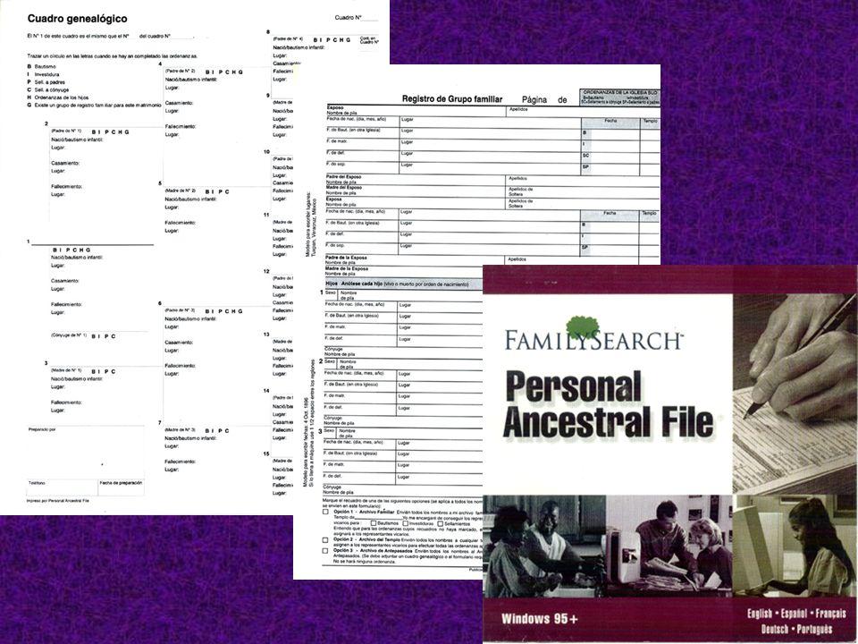 Haga copias de la información que halle y lleve apuntes detallados acerca de cada registro que examine, anote los resultados de su búsqueda (aun cuando no halle nada).