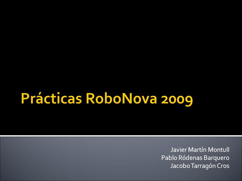 Javier Martín Montull Pablo Ródenas Barquero Jacobo Tarragón Cros