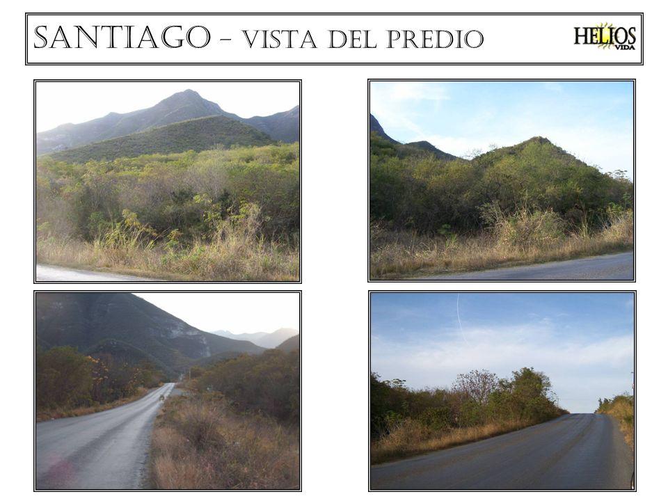 Santiago – el entorno