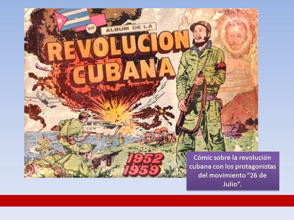 Cómic sobre la revolución cubana con los protagonistas del movimiento 26 de Julio.