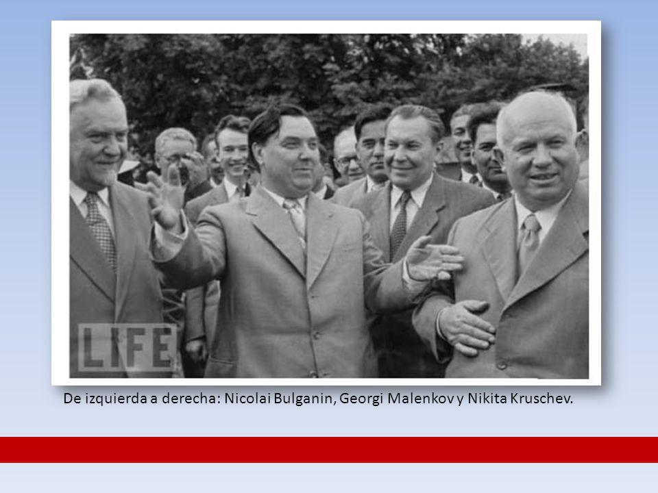 LA LUCHA POR EL PODER.Reparto provisional del poder en el círculo de amigos de Stalin.