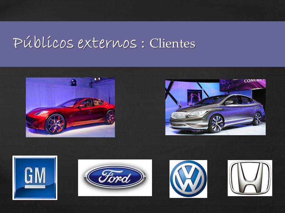 Públicos externos : México