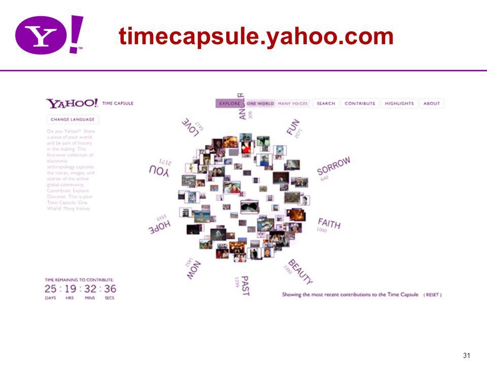 31 timecapsule.yahoo.com