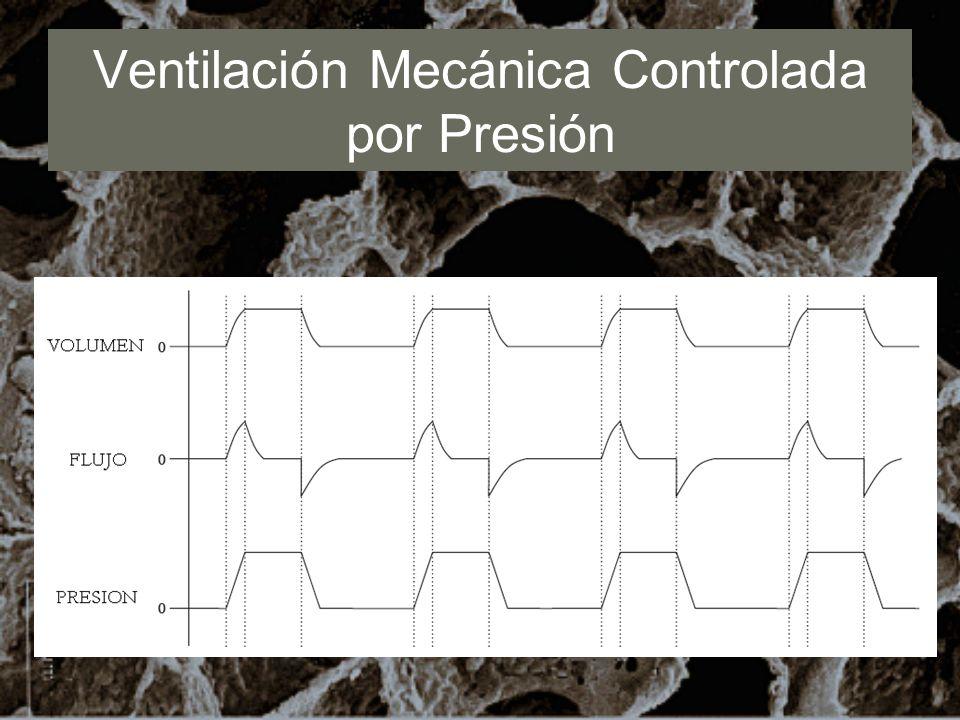 Ventilación Mecánica Controlada por Presión
