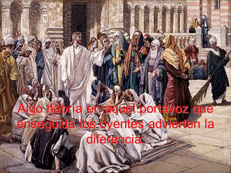 En el Evangelio vemos a Cristo que, fiel a su misión de llevar y de ser la Voz del Padre, llegado a Cafarnaún comienza a enseñar en la Sinagoga.
