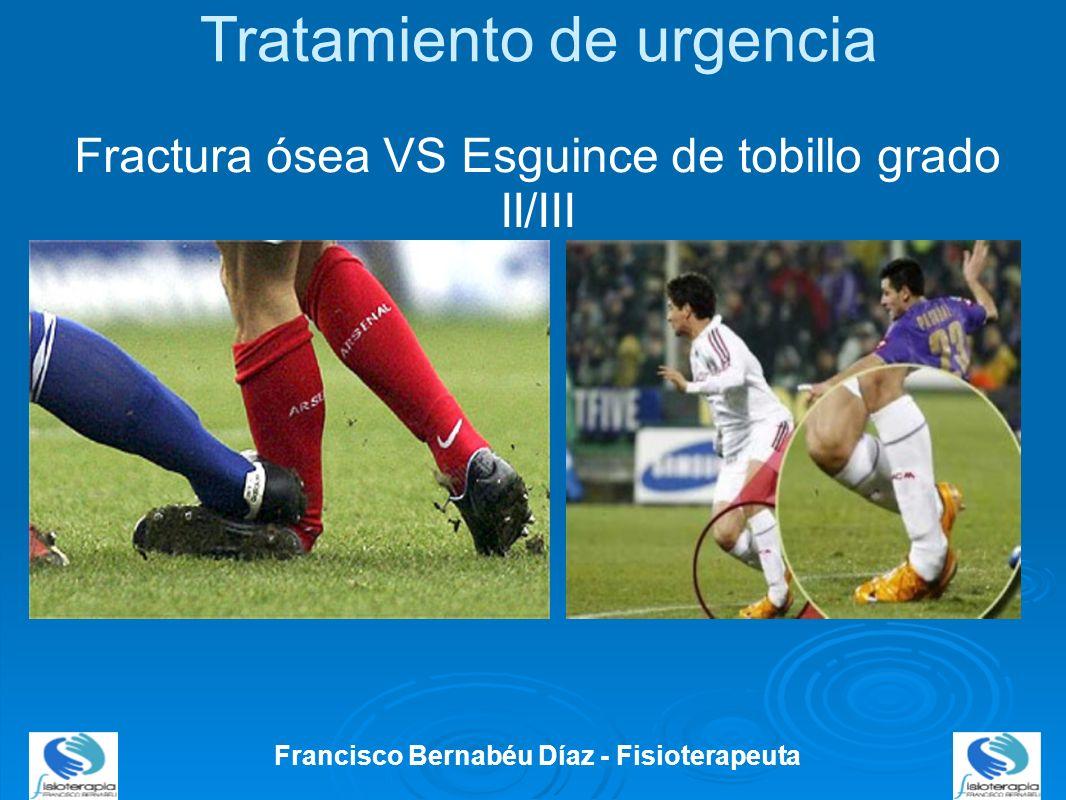 Vendaje funcional Francisco Bernabéu Díaz - Fisioterapeuta