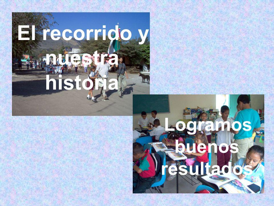 El recorrido y nuestra historia Logramos buenos resultados