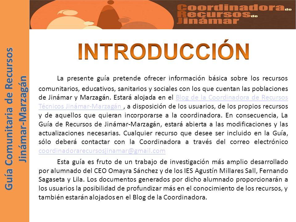 DISTRITO DE JINÁMAR.Ayto. de Telde Dirección: Lomo Las Brujas, nº 1 - Edif.
