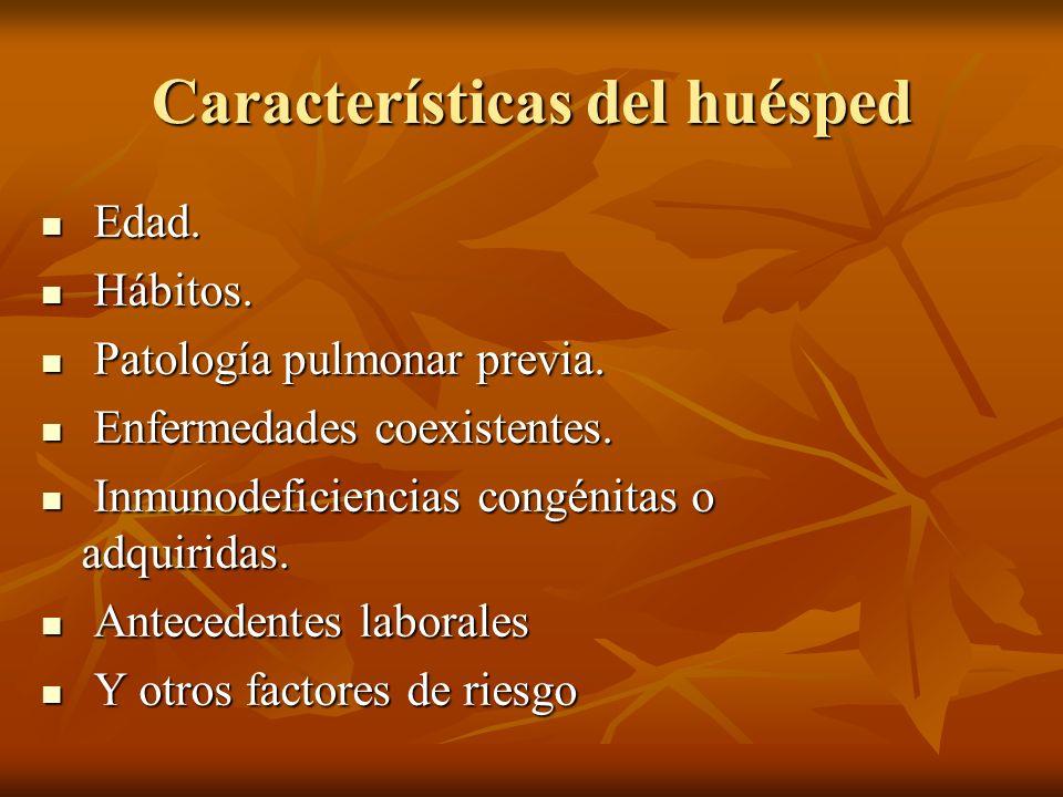 NAC - Patología pulmonar previa NAC - Patología pulmonar previa I.