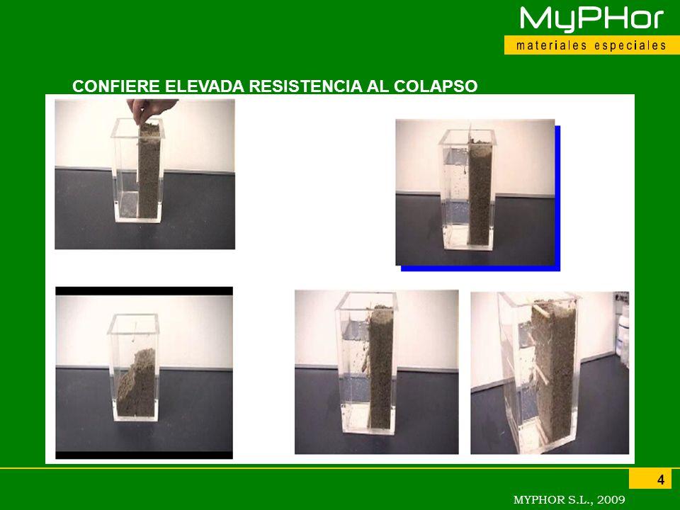 MYPHOR S.L., 2009 4 CONFIERE ELEVADA RESISTENCIA AL COLAPSO