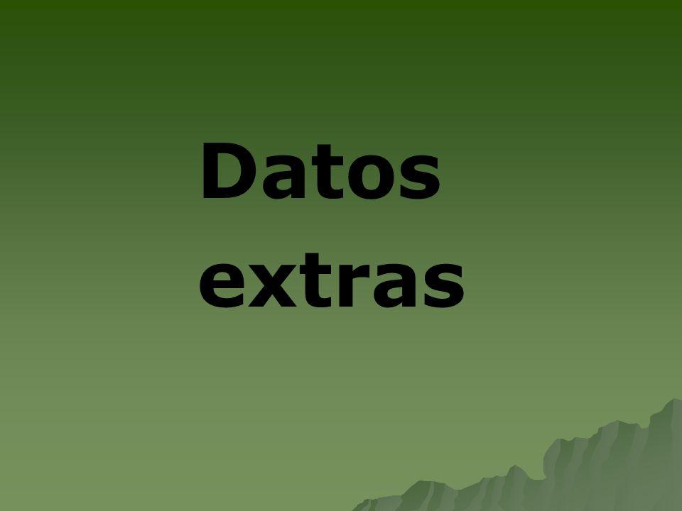 Datos extras