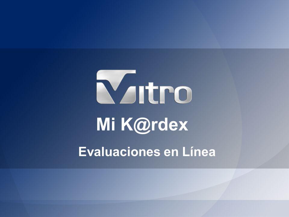 Mi K@rdex Evaluaciones en Línea