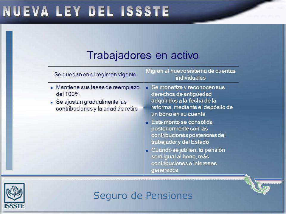 Seguro de Pensiones Jubilados y Pensionados Garantía plena, la ley dispone que el Gobierno Federal destinará los recursos necesarios para cubrir sus p