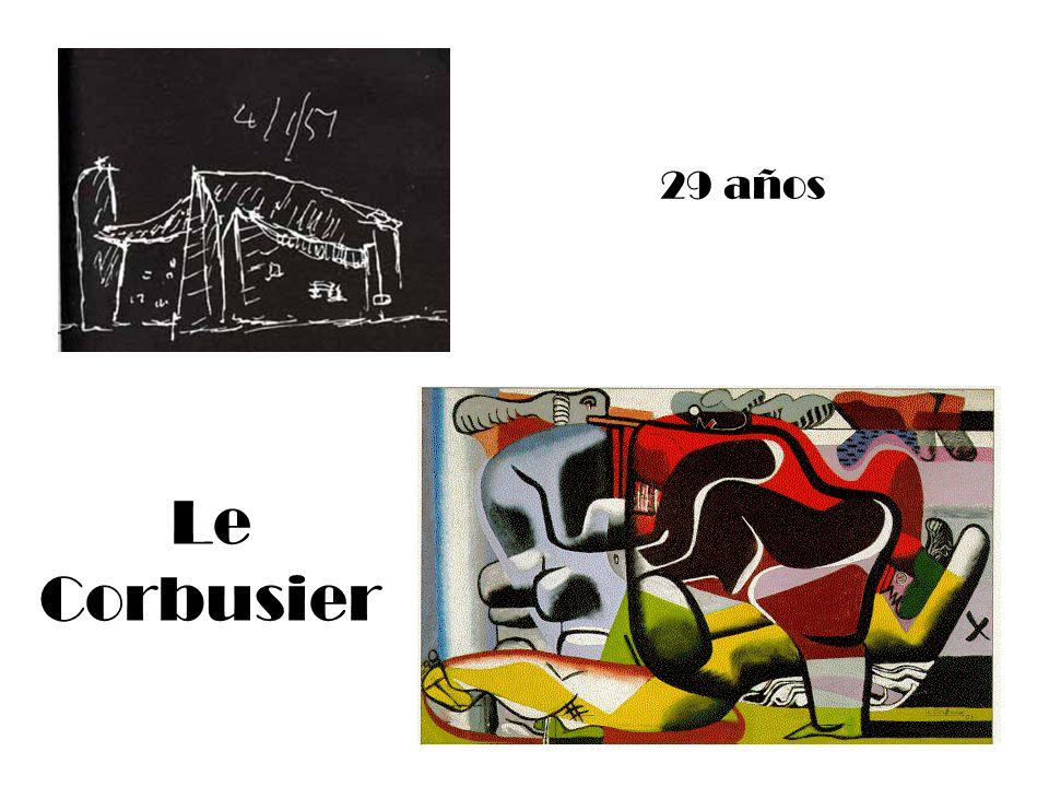 29 años Le Corbusier