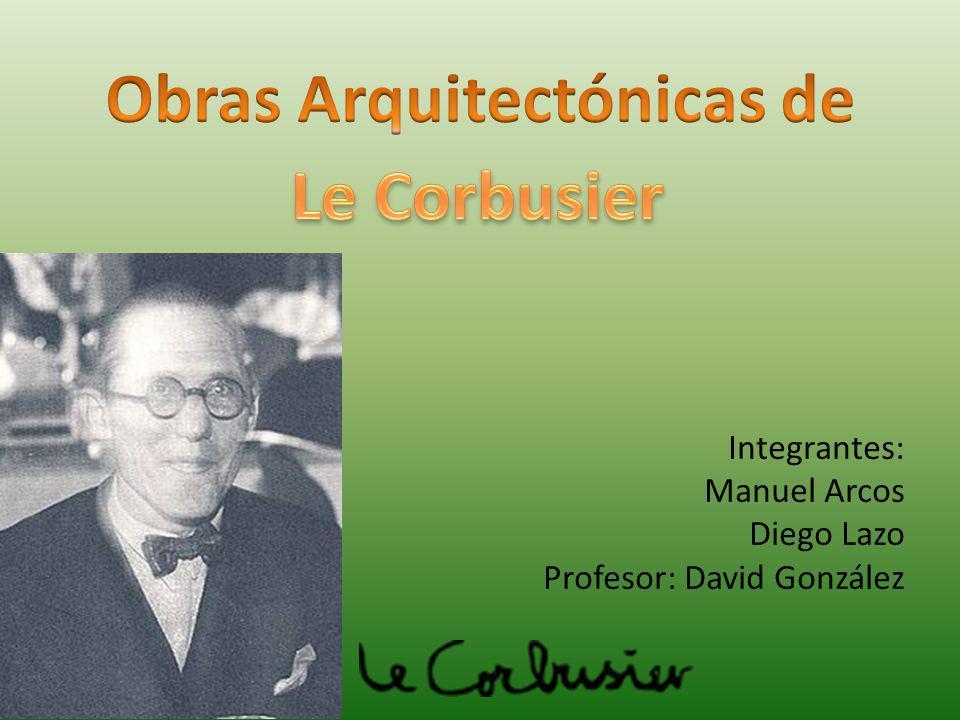 Integrantes: Manuel Arcos Diego Lazo Profesor: David González