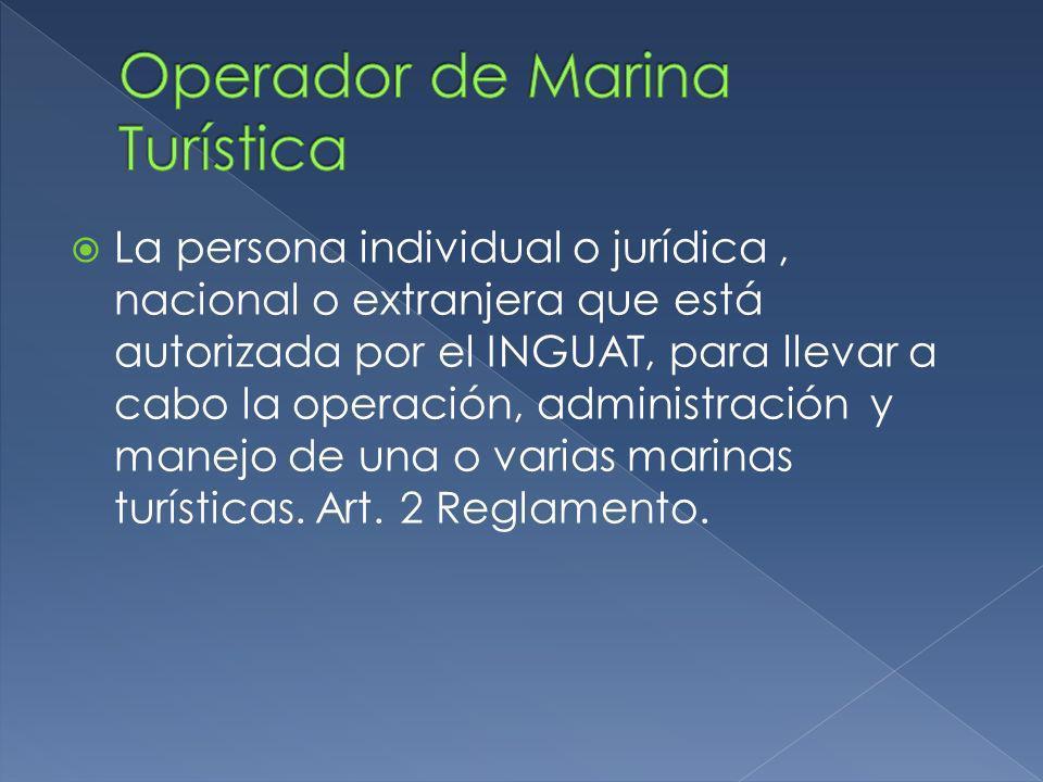 La persona individual o jurídica, nacional o extranjera que está autorizada por el INGUAT, para llevar a cabo la operación, administración y manejo de