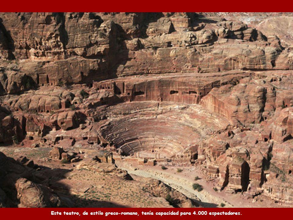 Los nabateos contruyeron en Petra un sofisticado sistema hidráulico con túneles y cámaras de agua.