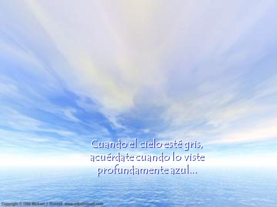 ACUÉRDATE DE LO BUENO