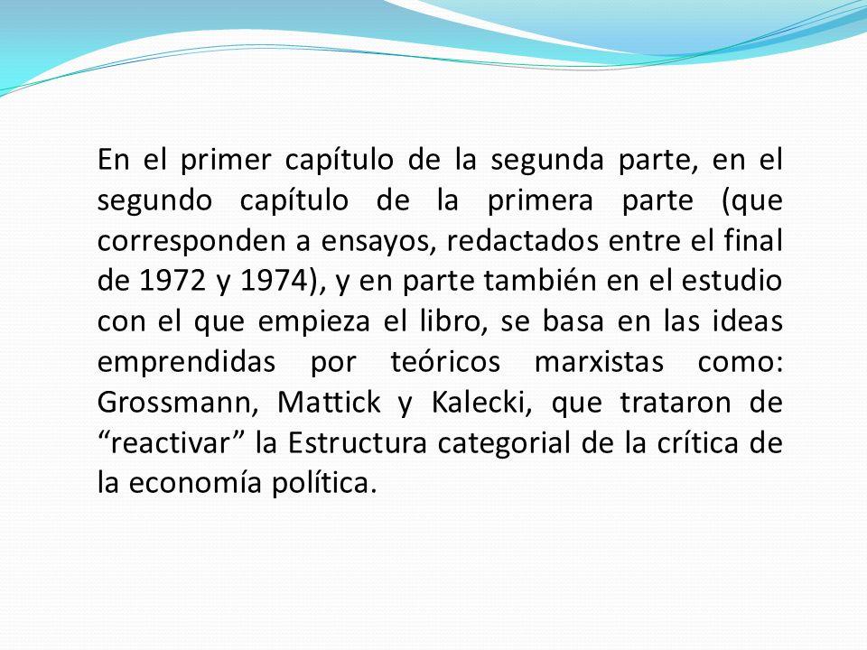 Habermas, a diferencia de SohnRethel, considera imposible la producción de una teoría del capitalismo tardío fuera de un análisis de las modalidades de surgimiento del nivel político-institucional como factor sustitutivo del nexo espontáneo entre socialización y valorización.