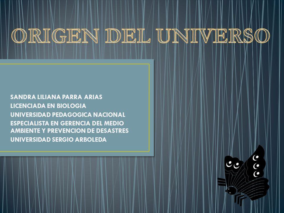 SANDRA LILIANA PARRA ARIAS LICENCIADA EN BIOLOGIA UNIVERSIDAD PEDAGOGICA NACIONAL ESPECIALISTA EN GERENCIA DEL MEDIO AMBIENTE Y PREVENCION DE DESASTRES UNIVERSIDAD SERGIO ARBOLEDA