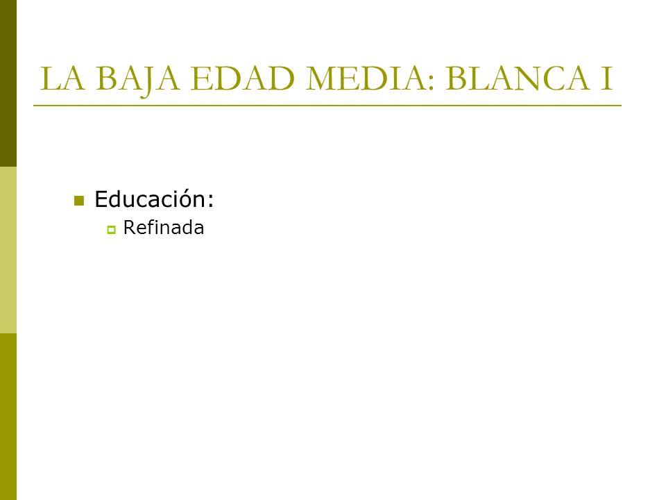 Educación: Refinada