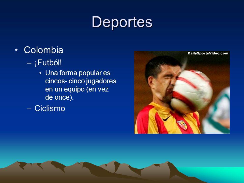 Deportes Colombia –¡Futból.