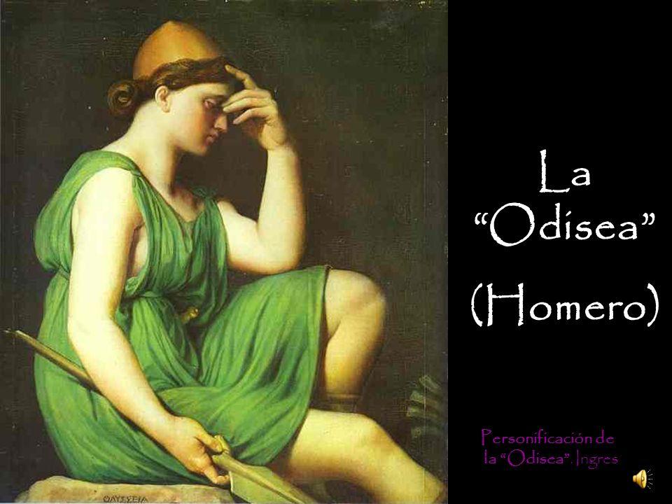 Personificación de la Odisea. Ingres La Odisea (Homero)