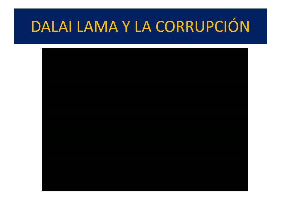 COMO SE FORMA UN CORRUPTO