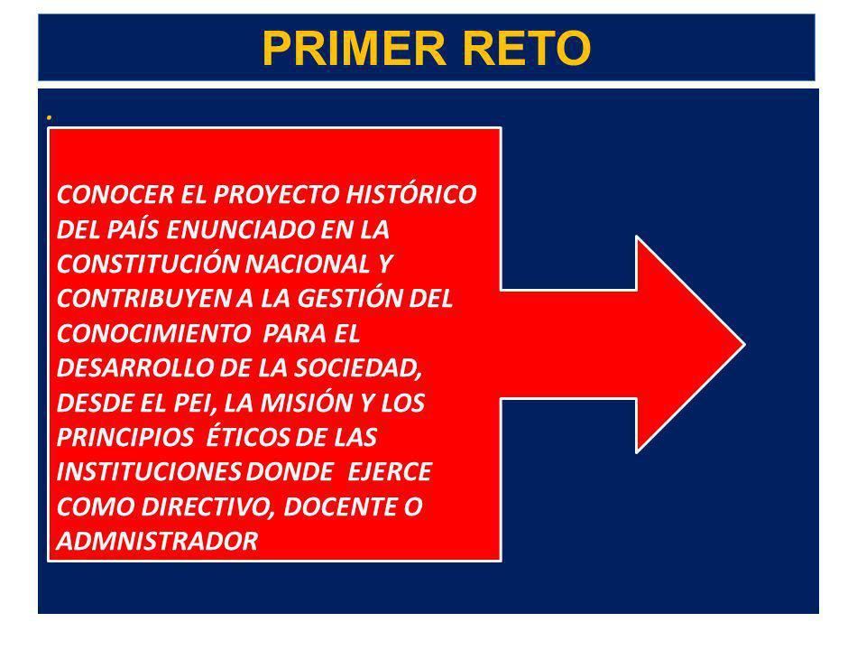 . 2. LOS RETOS ACTUALES DEL EDUCADOR CINCO RETOS DEL EDUCADOR PARA LA FORMACIÓN INTEGRAL Y CIUDADANA, LA PAZ Y LA DEMOCRACIA EN COLOMBIA