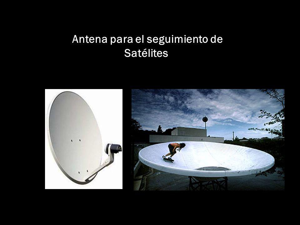 Antena para el seguimiento de Satélites
