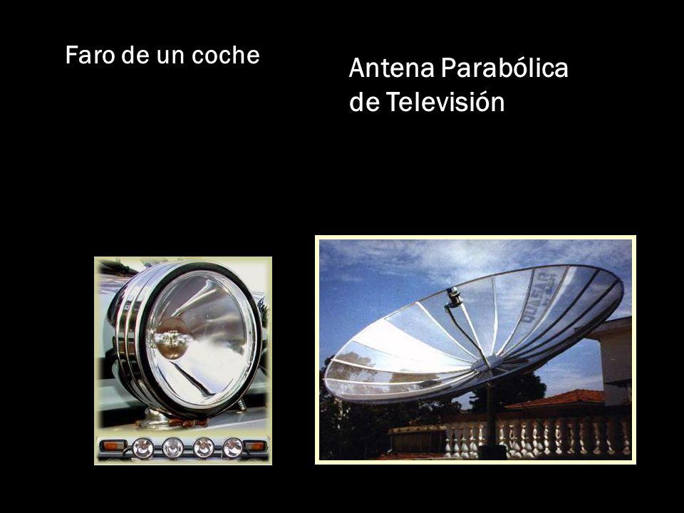 Faro de un coche Antena Parabólica de Televisión