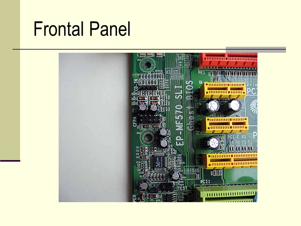 Frontal Panel
