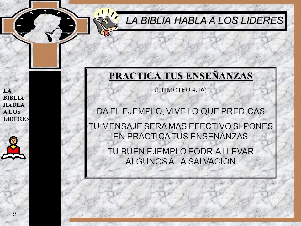 EVITA EL PREJUICIO Y LA PARCIALIDAD (I TIMOTEO 5:21) DIOS, JESUS Y LOS ANGELES SON TESTIGOS DE NUESTRAS ACCIONES SEA JUSTO Y EVITE EL FAVORITISMO 10 LA BIBLIA HABLA A LOS LIDERES