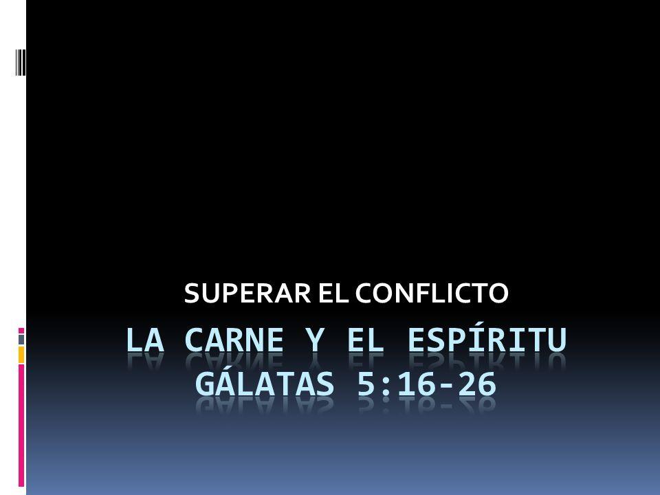 SUPERAR EL CONFLICTO