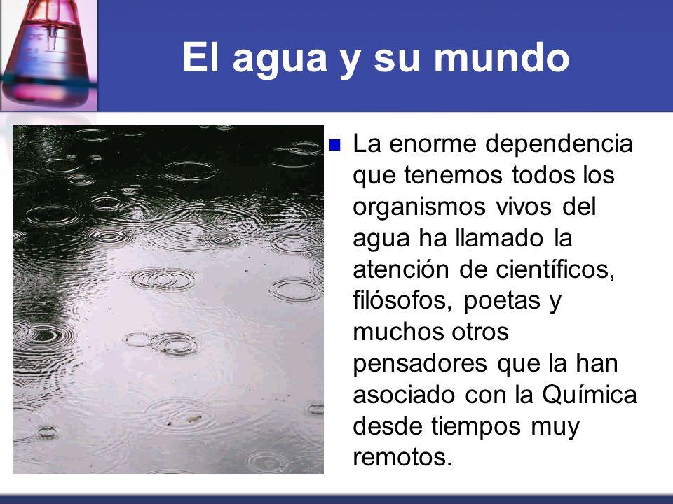 El ciclo del agua Es por ello que el aire contiene una cantidad considerable de agua en forma de vapor, la cual se conoce como humedad atmosférica.