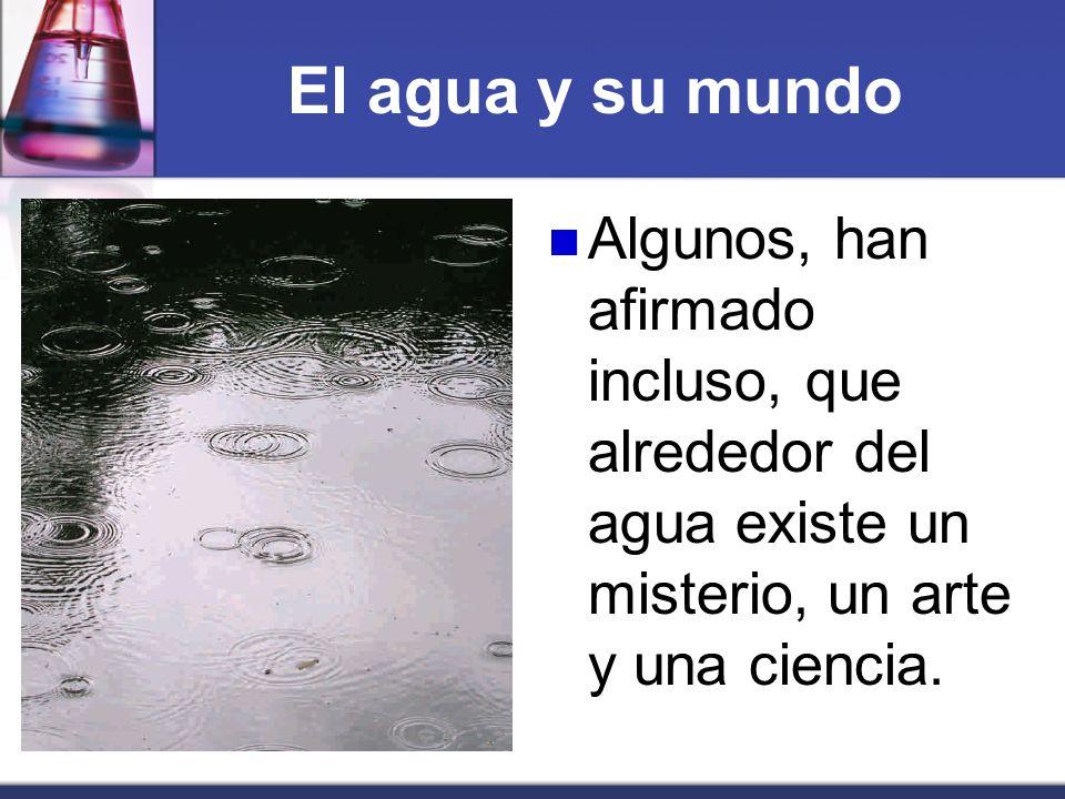 El ciclo del agua Cuando el aire se enfría, el vapor se condensa y el agua se precipita bajo formas diversas (lluvia, nieve, granizo, rocío...).