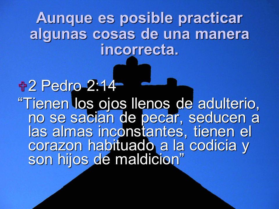 Slide 6 2 Pedro 2:14 2 Pedro 2:14 Tienen los ojos llenos de adulterio, no se sacian de pecar, seducen a las almas inconstantes, tienen el corazon habi