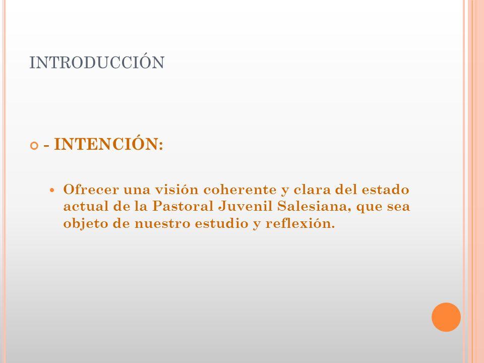 3.- ASPECTOS DE RENOVACIÓN PASTORAL 2.- Pero esta voluntad de renovación encuentra dificultades para traducirse en programas y procesos concretos.