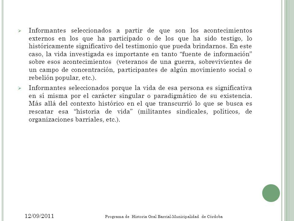 B IBLIOGRAFÍA ARFUCH, Leonor; La Entrevista, una relación dialógica.